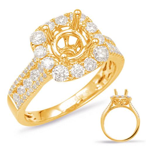 Diamond Engagement Ring  in 14K Yellow Gold    EN7882-1YG
