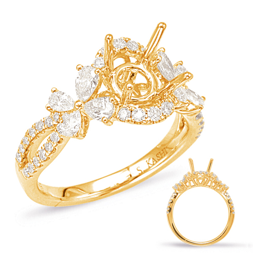Diamond Engagement Ring  in 14K Yellow Gold    EN7904-1YG