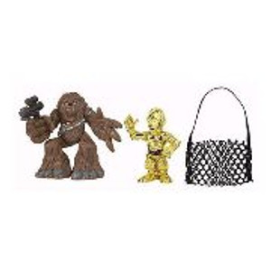 "STAR WARS GALACTIC HEROS ""CHEWBACCA AND C3P-O"""