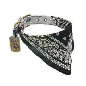 The Walking Dead Daryl Bandana Dog Collar SM 11-14 in. neck
