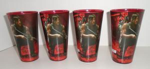 The Walking Dead Daryl Bike pint glass set of 4