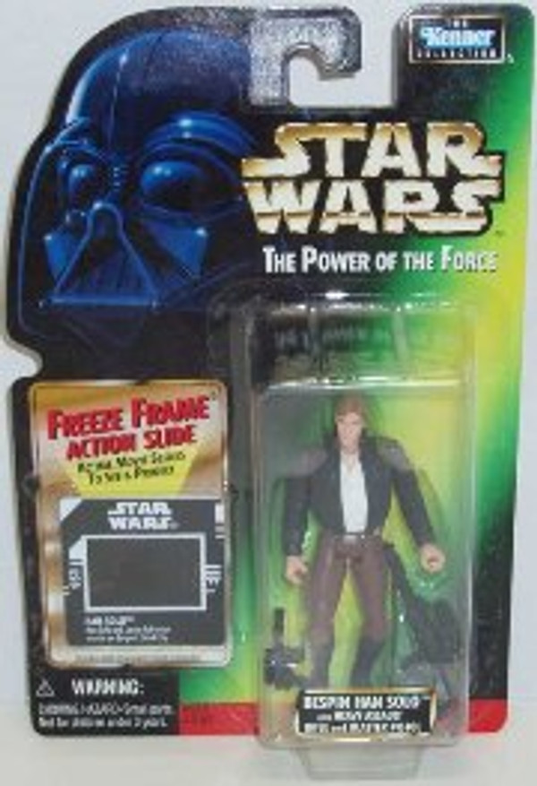 """STAR WARS POWER OF THE FORCE """"BESPIN HAN SOLO"""""""