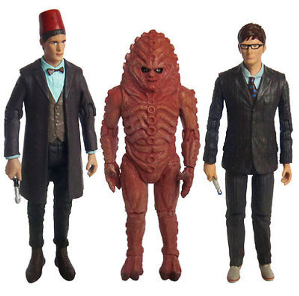 """DOCTOR WHO """"THE DAY OF THE DOCTOR COLLECTOR SET"""" 50th Anniversary Special NEW"""