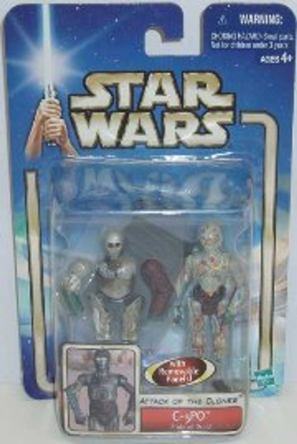 "STAR WARS ""C-3PO PROTOCOL DROID DELUXE ACTION FIGURE"