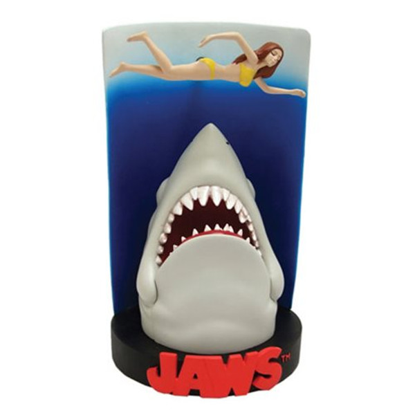 "JAWS ""SWIMMER POSTER"" Premium Motion Statue"