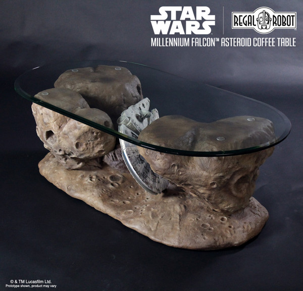Millennium Falcon™ Asteroid Coffee Table