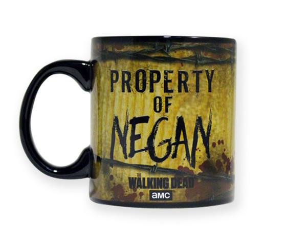 The Walking Dead Property of Negan 20 oz mug set of 2