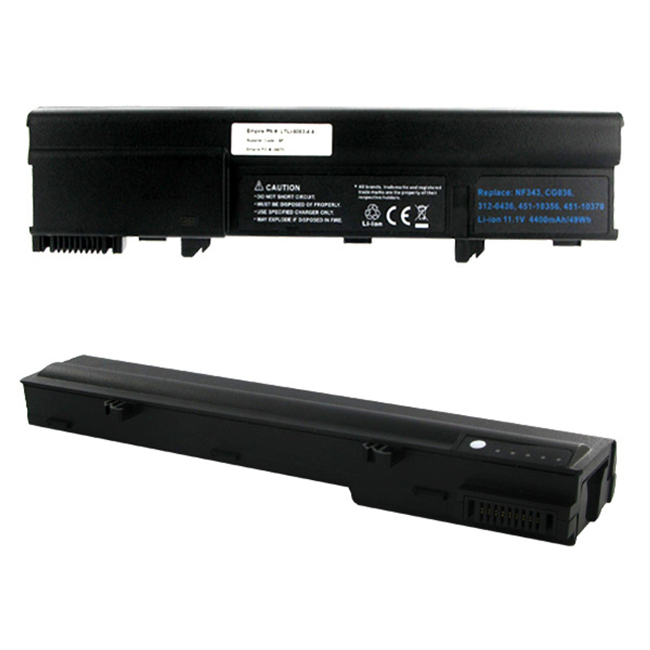 Dell XPS M1210 Laptop Battery