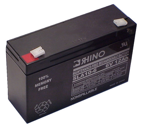 LIGHT ALARMS TBRC2 battery (replacement)