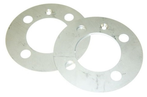 12. STAINLESS HUB ADAPTER PLATE (PAIR)