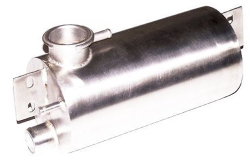 35. STAINLESS COOLANT BOTTLE