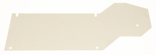 41. MUFFLER HEAT SHIELD STOCK DESIGN STAINLESS STEEL