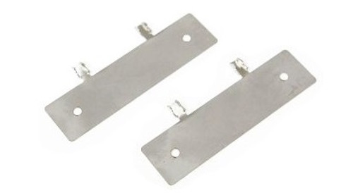 6. FUSE BLOCK CLIP (PAIR STAINLESS)