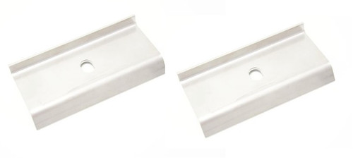 FRONT FRAME TO BODY SPACER STAINLESS (PAIR)