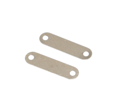 8. SPARE TIRE STRAP RETAINING PLATE (STAINLESS)