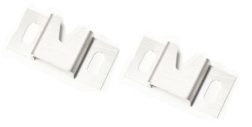 2. HOOD INTRUSION BRACKET STAINLESS (PAIR)