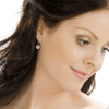 Pendant Grand Bezel Crystal Earrings