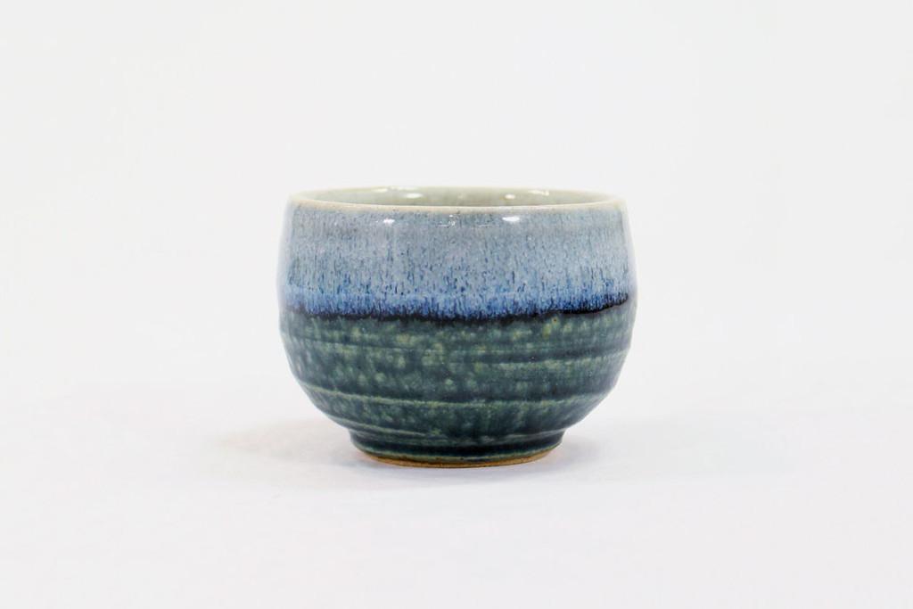 Mashiko-Yaki Rustic Blue  Bowl