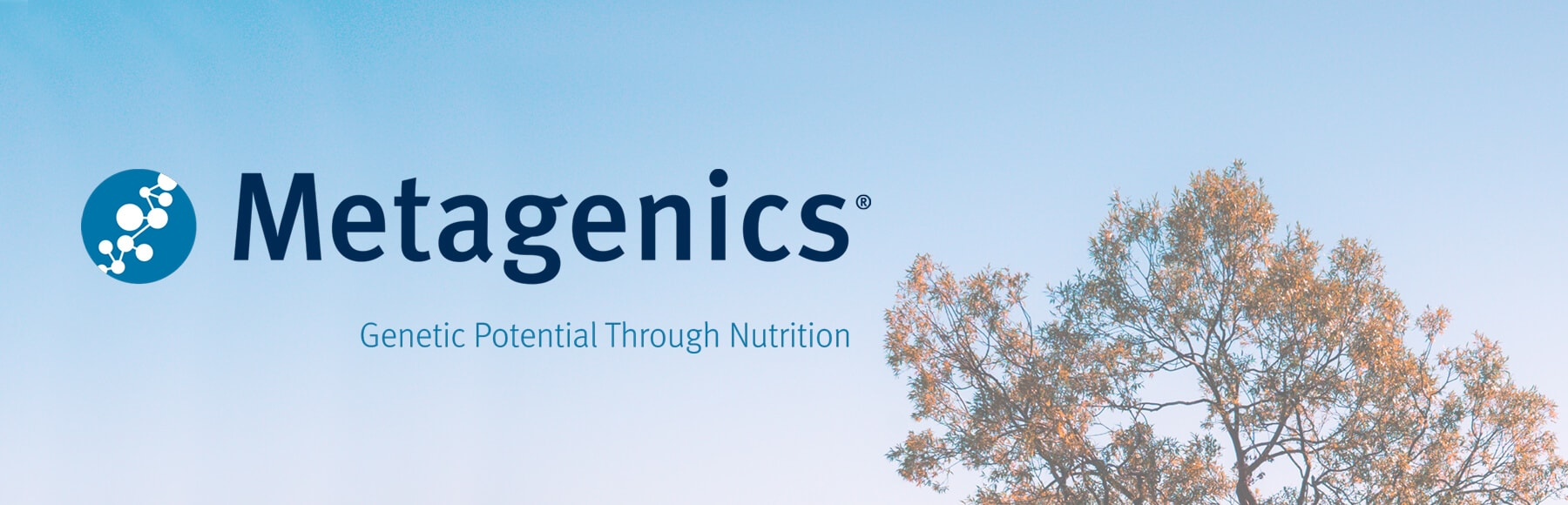 Metagenics Logo Banner