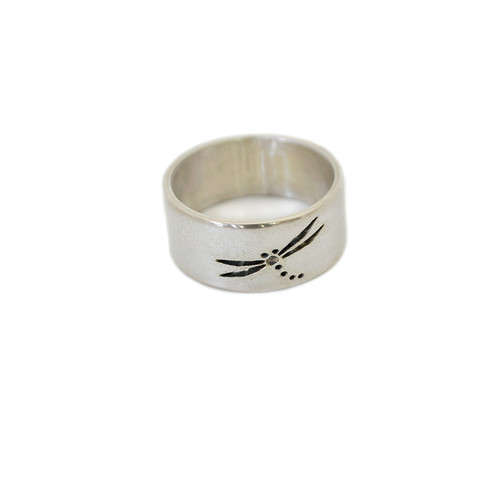 Native American Made Dragonfly Ring