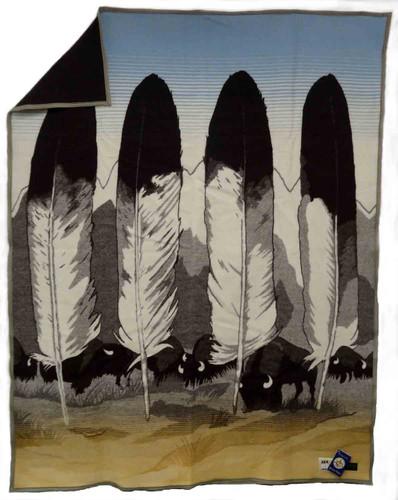 Pendleton Blanket: Legendary Series - In Their Element - Ivory