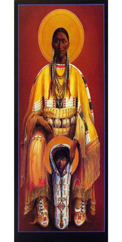 Cheyenne Virgin and Child