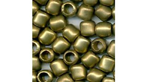 Hollow Old Style Brass Beads