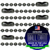 #3 Dungeon Finish Ball Chains with Connector - 30 Inch Length