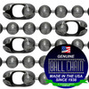 #13 Dungeon Finish Ball Chains with Connector - 8 Inch Length
