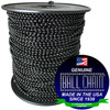 #6 Black Coated Ball Chain Spool