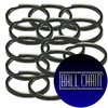 28mm (1 Inch) Gun Metal Split Key Rings
