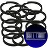 24mm Black Split Key Rings
