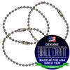 #3 Aluminum Key Chains - 4 Inch Length