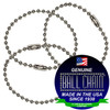 #3 Aluminum Key Chains - 6 Inch Length