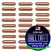 3.2mm x 9.5mm Plain Bars - Copper