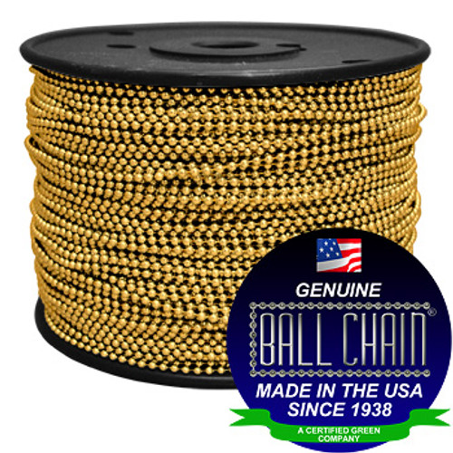 #3 Gilding Metal Ball Chain Spool