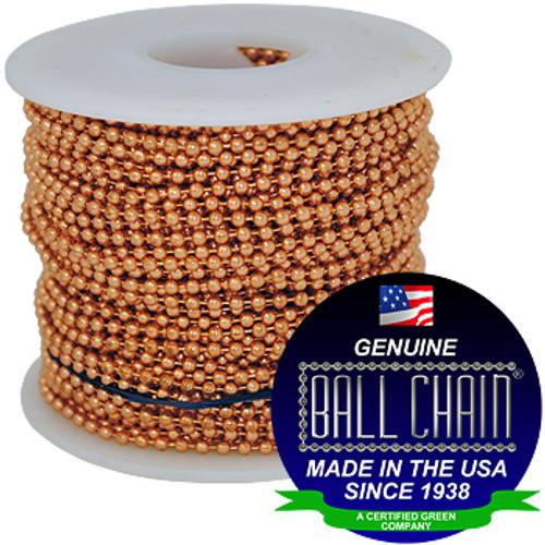 #3 Copper Ball Chain Spool