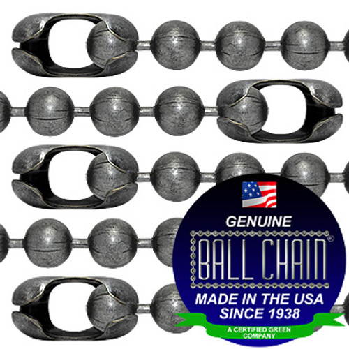 #20 Dungeon Finish Ball Chains with Connector - 8 Inch Length