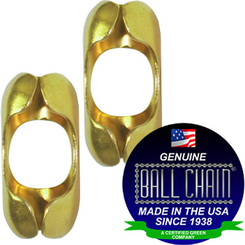 #8 Yellow Brass B Couplings