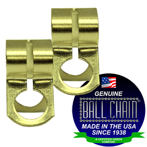 #10 Yellow Brass D Couplings
