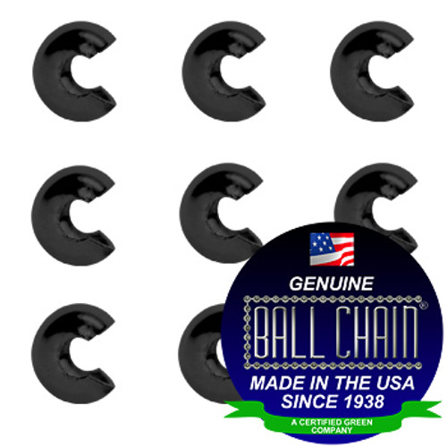 5/16 Inch Black Open Ball