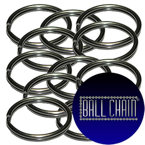 28mm Stainless Steel Split Key Rings