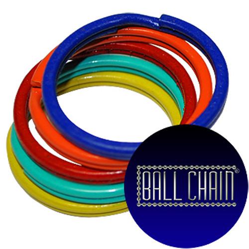 24mm Color Split Key Rings