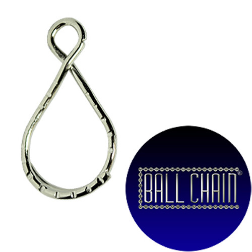 Figure 8 Split Key Rings - Nickel Plated Steel