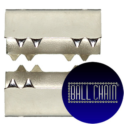 Nickel Plated Metal Clamps - 19 mm Length (BCM46)