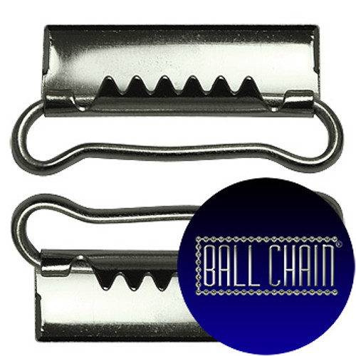 Nickel Plated Metal Clamps - 35 mm Length (BCM42)