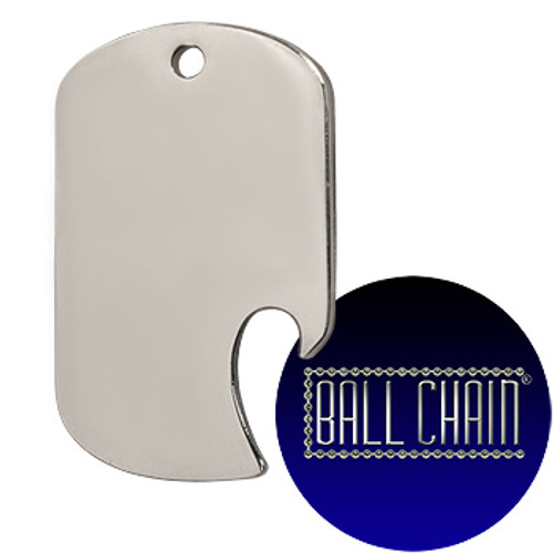 Dog Tag Bottle Openers - Side Slot