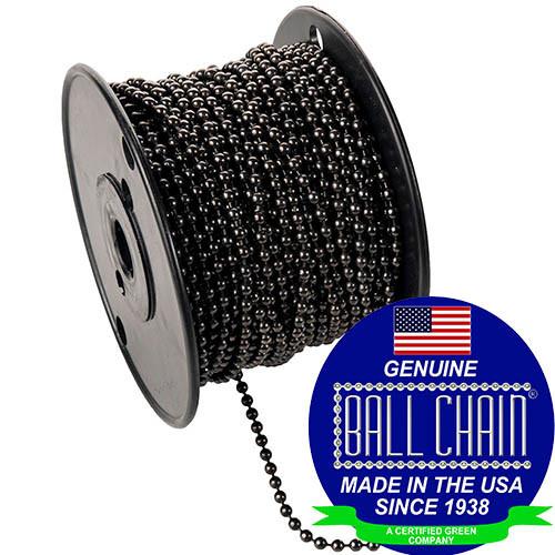 #10 Gun Metal Ball Chain Spool.