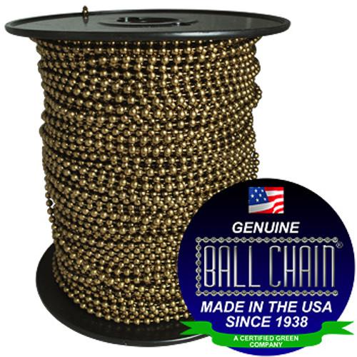 #20 Medieval Brass Ball Chain Spool