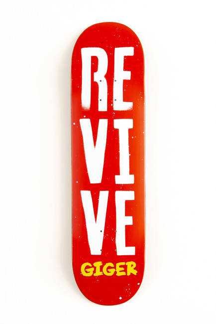 Jonny Giger Stencil - Deck